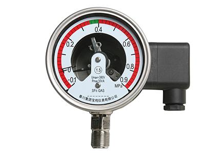 SF6气体压力密度表